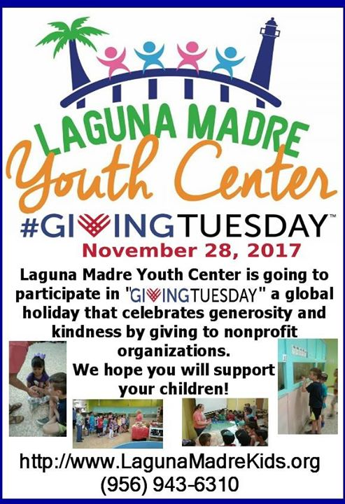 The kids come to the Laguna Madre Youth Center for fun and games, but stay becau…