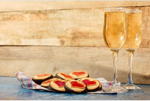 Champagne and Cookies!
