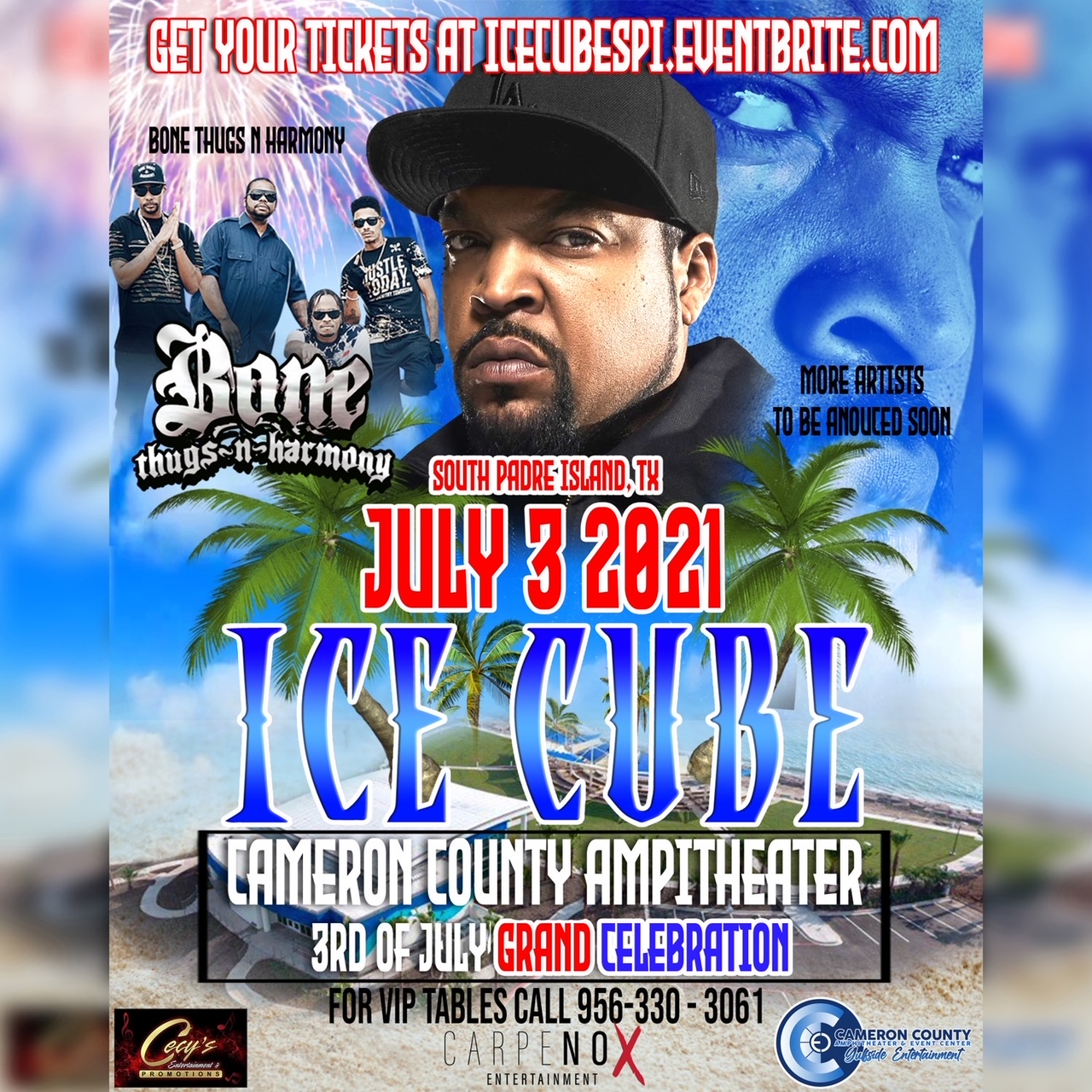 Ice Cube at the Amphitheater on SPI July 3rd 2021!