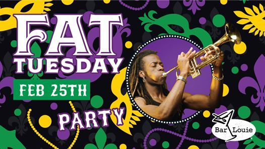 Fat Tuesday at Bar Louie South Padre Island