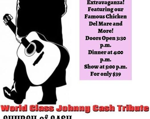 Johnny Cash Tribute Concert with Dinner at LongBoard Bar & Grill