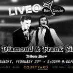 Neil Diamond & Frank Sinatra Tribute Show Performing Live at Bar Louie