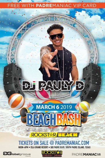 DJ Pauly D to Perform Live on March 6