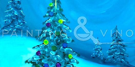 Recreate this holiday paint O Christmas Tree at Beachside Bar