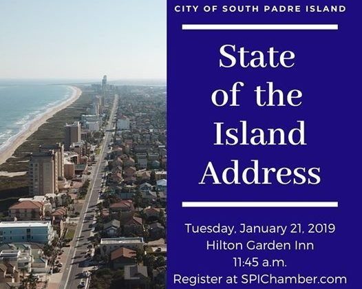 State of the Island Address at Hilton Garden Inn South Padre Island, South Padre Island