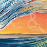 Sunset Wave - Fun Paint and Sip Event