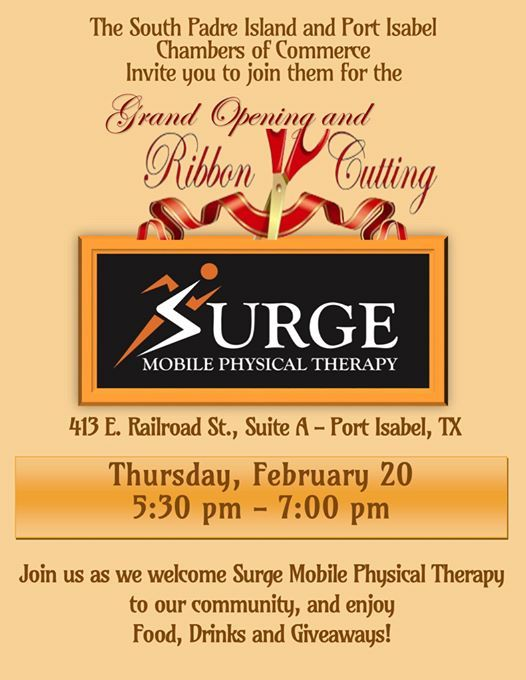 Surge Mobile Physical Therapy Grand Opening & Ribbon Cutting