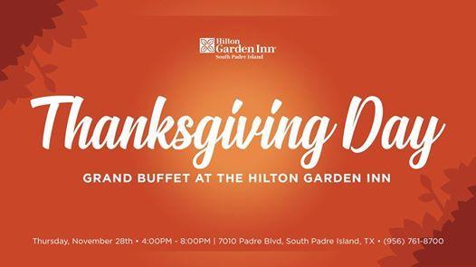 Thanksgiving Day Grand Buffet at the Hilton Garden Inn