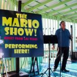 The Mario Show on stage