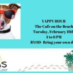 Yappy Hour at The Cafe on the Beach