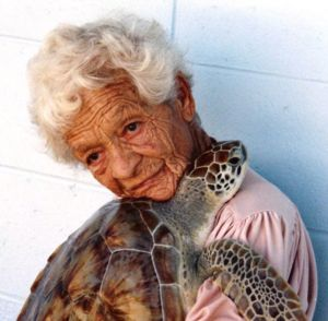 #IlaLoetscher is known as the  #TurtleLady of  #SouthPadreIsland and the founde…