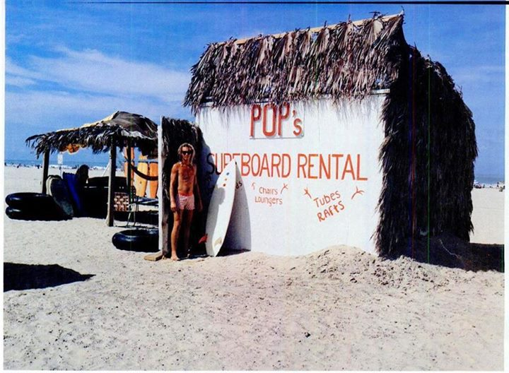 #SPILife with Pop's  #Surfboard Rentals of  #SouthPadreIsland. The favorite han…